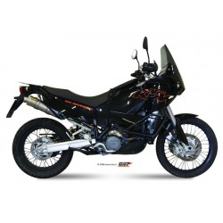 ESCAPES KTM LC8 950/990/ADVENTURE MIVV REDONDO TITANIO