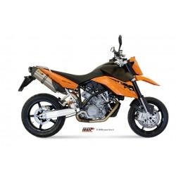 ESCAPES KTM LC8 950 SUPERMOTO R MIVV SUONO INOX