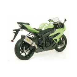 TUBO DE ESCAPE KAWASAKI ZX6R 09 10 11 ARROW RACE TECH TITANIO/CARBONO