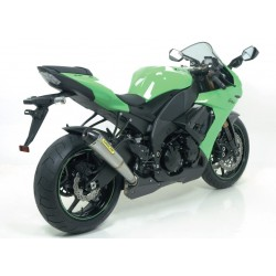 TUBO DE ESCAPE KAWASAKI ZX6R 09 10 11 ARROW PRO - RACING