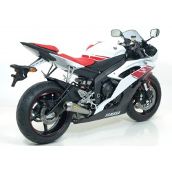 TUBO DE ESCAPE YAMAHA R6 06 07 08 09 10 11 ARROW PRO RACE TITANIO