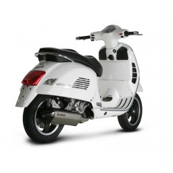 ESCAPE VESPA GTS 125/ GTS 250/ GTV 250/ GTS 300 AKRAPOVIC SLIP ON INOX
