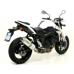 ESCAPE SUZUKI GSR 750 2011 ARROW RACE TECH ALUMINIO