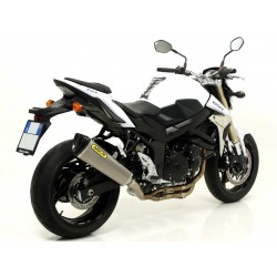 ESCAPE SUZUKI GSR 750 11 12 ARROW TROPHY TITANIO CARBONO