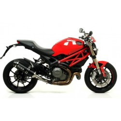 ESCAPE DUCATI MONSTER 1100 EVO 11 12 ARROW ALUMINIO DARK