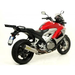 ESCAPE HONDA CROSSRUNNER 800 11 12 ARROW TITANIO COPA CARBONO