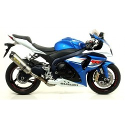 ESCAPE SUZUKI GSX-R 1000 12 13 ARROW RACE TECH TITANIO COPA CARBONO
