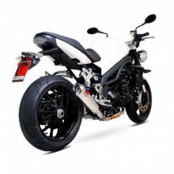 ESCAPE TRIUMPH SPEED TRIPLE 1050 05 06 07 08 09 10 SCORPION POWER CONE TITANIO COPA INOX.