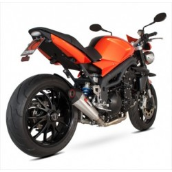 ESCAPE TRIUMPH SPEED TRIPLE 1050 05 06 07 08 09 10 SCORPIONS SERKET CONICO TITANIO