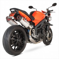 ESCAPE TRIUMPH SPEED TRIPLE 1050 05 06 07 08 09 10 SCORPION SERKET PARALELO TITANIO