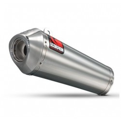 ESCAPE SUZUKI SVF 650 GLADIUS 09 10 11 12 13 SCORPION POWER CONE INOX