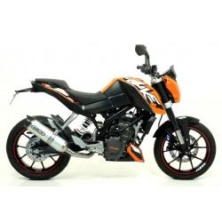 ESCAPE LINEA COMPLETA KTM DUKE 125 11 12 13 14 ARROW THUNDER ALUMINIO/COPA CARBONO