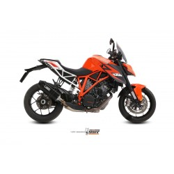 ESCAPE KTM SUPERDUKE 1290 MIVV SPEED EDGE STEEL BLACK