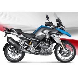 LINEA COMPLETA ESCAPE BMW R 1200 GS/AGUA 13 14 15 AKRAPOVIC TITANIO BLACK