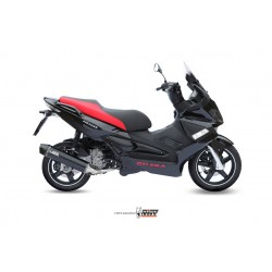 ESCAPE COMPLETO GILERA NEXUS 300 MIVV STRONGER STEEL BLACK