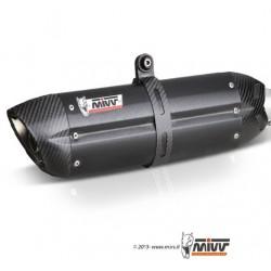 ESCAPE BMW K 1200 R/S/GT 05 06 07 08 09 10 MIVV SUONO STEEL BLACK