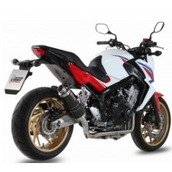 LINEA COMPLETA ESCAPE HONDA CBR 650F 14 15 MIVV GP STEEL BLACK