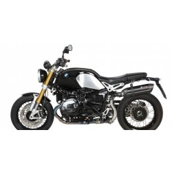 ESCAPE BMW R NINE T 14 15 16 MIVV SUONO STEEL BLACK POSICION ALTA
