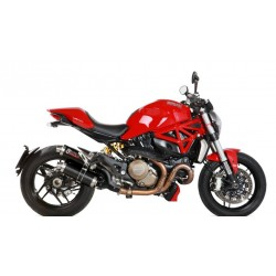 ESCAPES DUCATI MONSTER 1200 14 15 16 MIVV GP STEEL BLACK