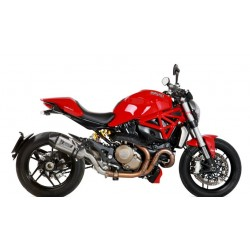 ESCAPE DUCATI MONSTER 1200 14 15 16 MIVV SPEED EDGE INOX.COPA CARBONO