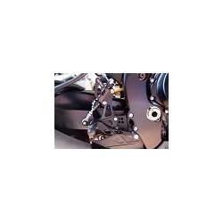 ESTRIBERAS REGULABLES LIGHTECH SUZUKI GSX-R 1000 07 08 PEDAL ABATIBLE