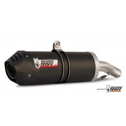 ESCAPE MOTO GUZZI GRISSO 850/1100/1200 MIVV OVAL CARBONO