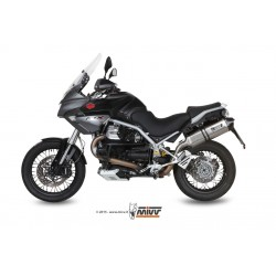 ESCAPE MOTO GUZZI STELVIO 08 09 10 11 12 13 14 MIVV SPEED EDGE INOX