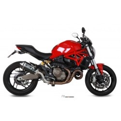 ESCAPE DUCATI MONSTER 821 15 16 MIVV SPEED EDGE STEEL BLACK