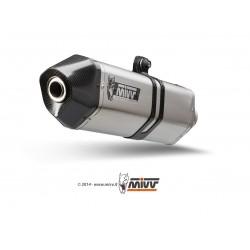 ESCAPE DUCATI MONSTER 821 15 16 MIVV SPEED EDGE INOX.