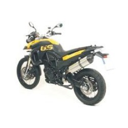 ESCAPE BMW F 850 GS 08 09 10 ARROW MAXI RACE-TECH ALUMINIO