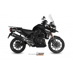 ESCAPE TRIUMPH TIGER 1200 EXPLORER 11 12 13 14 15 MIVV SPEED EDGE STEEL BLACK