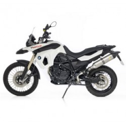 ESCAPE BMW F700 GS - F800 GS 08 09 10 11 12 13 14 15 LEOVINCE LV ONE INOX
