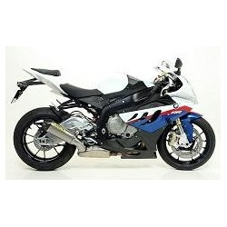 KIT ESCAPE BMW S 1000 RR 09 10 LINEA COMPLETA ARROW WORKS TITANIO