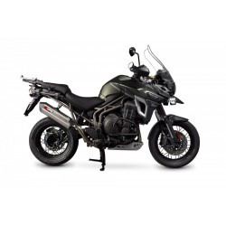 ESCAPE TRIUMPH TIGER 1200 EXPLORER 16 17 SCORPION SERKET PARALELO INOX.
