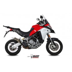 ESCAPE DUCATI MULTISTRADA 1200 ENDURO 16 17 18 MIVV DOUBLE GUN