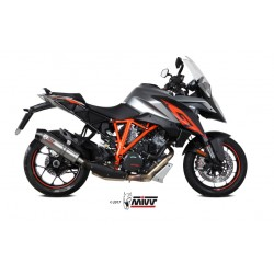 ESCAPE KTM 1290 SUPERDUKE GT 16 17 18 MIVV OVAL TITANIO