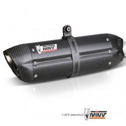 ESCAPE KTM 1290 SUPERDUKE GT 16 17 18 MIVV SUONO STEEL BLACK
