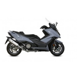 LINEA COMPLETA ESCAPE KYMCO AK 550 17 18 MIVV SPEED EDGE INOX