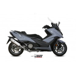ESCAPE KYMCO AK 550 17 18 MIVV SPEED EDGE INOX